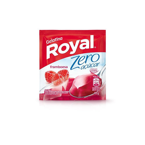 Gelatina Royal Zero 12g  Framboesa