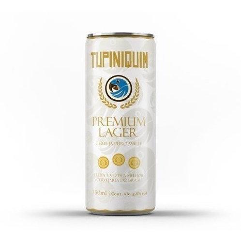 Cerveja Tupiniquim Lata 350ml Premium Lager