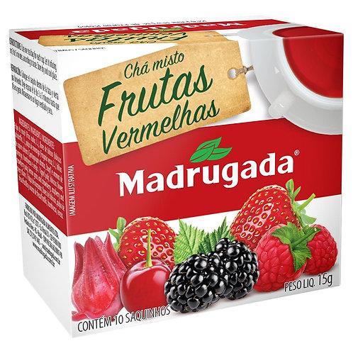 Chá Madrugada 15g Frutas Vermelhas