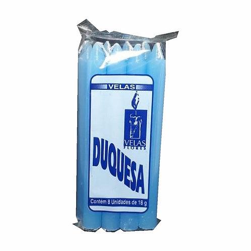 Vela Duquesa 1 Cor 8Un  Azul