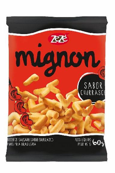 Biscoito Mignon Zezé 60g  Churrasco