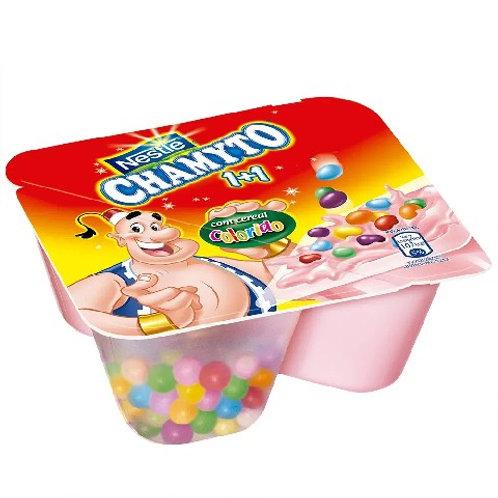 Bebida Lactea Nestle 130g Chamyto  Morango Cereais Creme