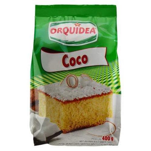 Mistura para Bolo Orquídea 400g  Coco