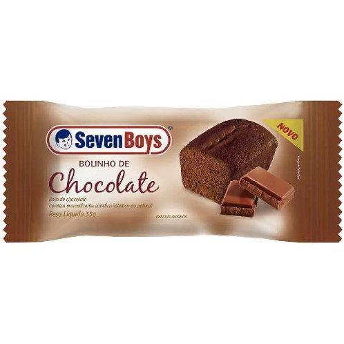 Bolinho Seven Boys 35g  Chocolate