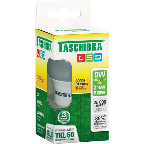 Lâmpada Led Taschibra 9W  3000K