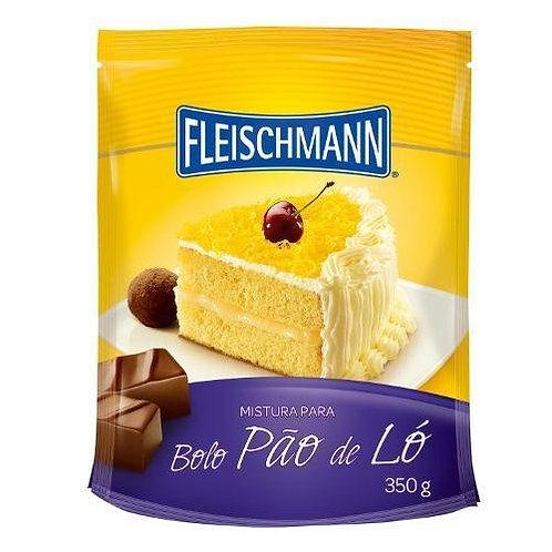 Mistura para Bolo Fleischmann 350g Pão de Ló