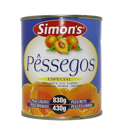 Pêssego Simons 430g