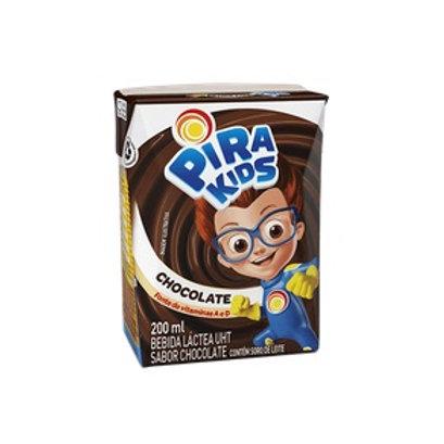 Achocolatado Líquido Pirakids 200ml Chocolate