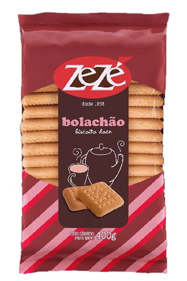 Biscoito Zezé 400g Bolachao Doce