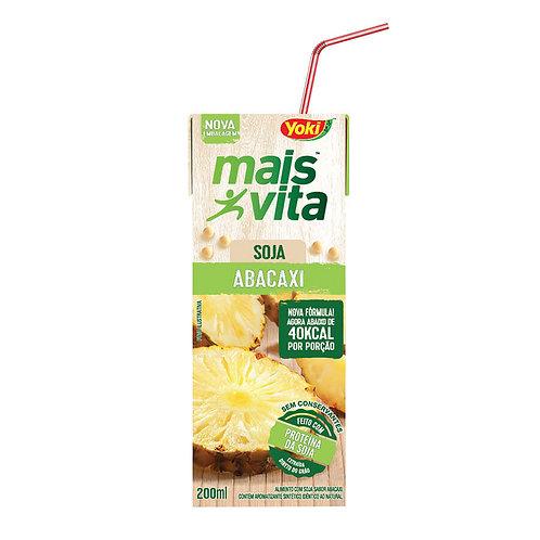 Alimento Soja Mais Vita 200ml  Abacaxi