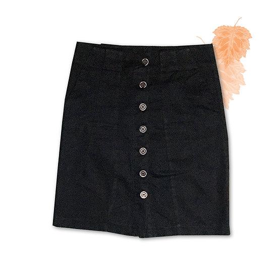 Saia Preta Zara Basic - Tam M