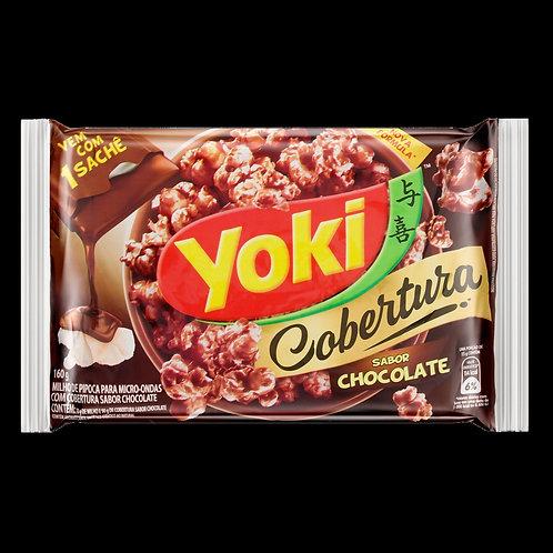 Milho Pipoca Micro Yoki 130g Cob  Chocolate