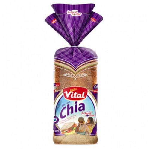 Pão Vital 350g Chia