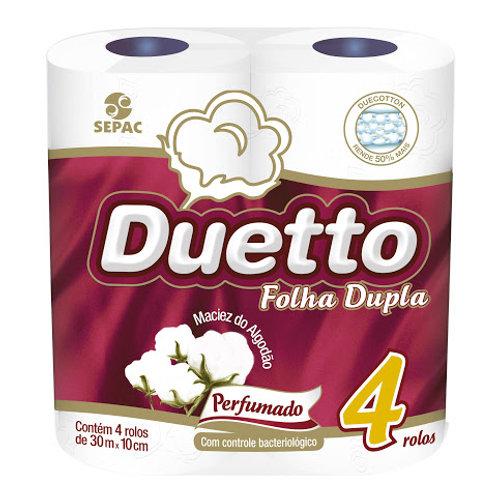 Papel Higiênico Duetto 4Un 30M  Perfumado