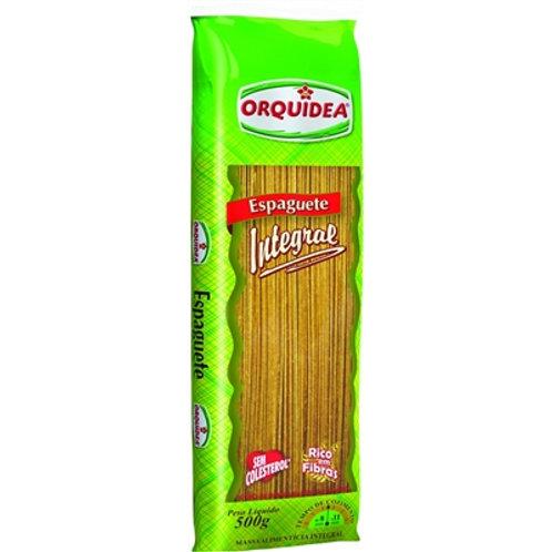 Massa Orquidea 500g Espaguete Integral