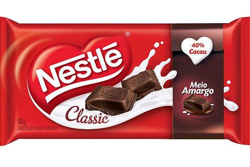 Chocolate Barra Nestle  90g Meio Amargo