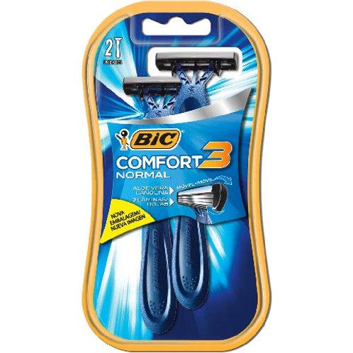 Aparelho de Barbear Bic Comfort 3 2Un  Regular