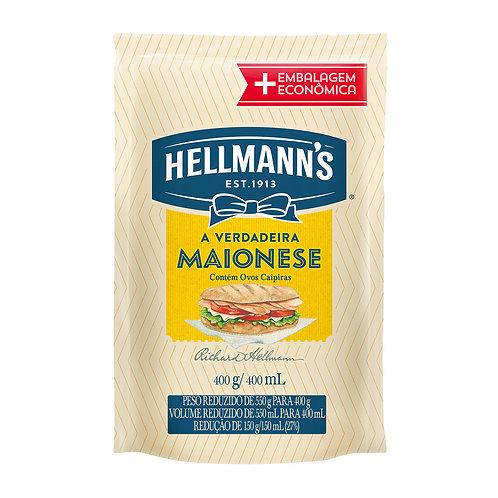 Maionese Hellmanns 400g Sachê