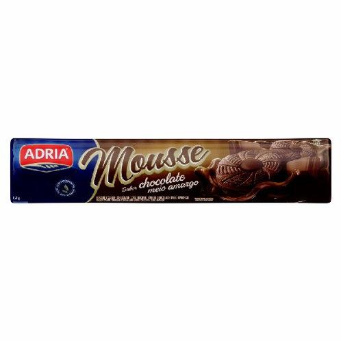 Biscoito Recheado Mousse 160g  Chocolate Amargo