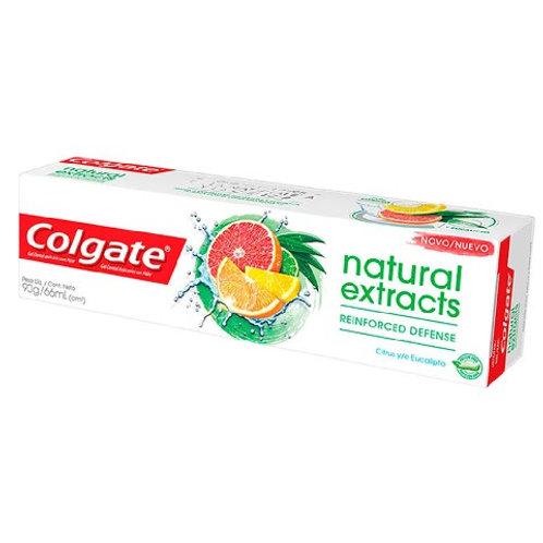 Gel Dental Colgate Natural Extracts 90g  Reinforced Defense