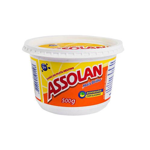 Sabão Pasta Assolan 500g