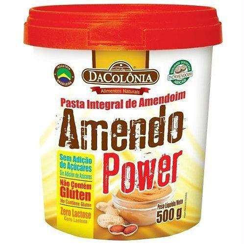 Pasta de Amendoim Amendo Power 500g Tradicional