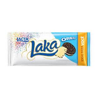 Chocolate Barra Lacta 90g  Laka Oreo