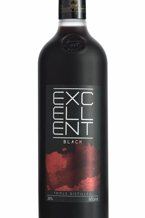Vodka Excellent 950ml  Preta