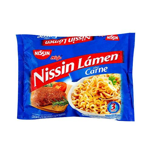 Macarrão Instantâneo Nissin 85g Carne