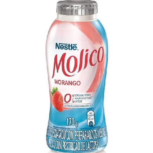 Leite Fermentado Nestle 170g Molico  Morango