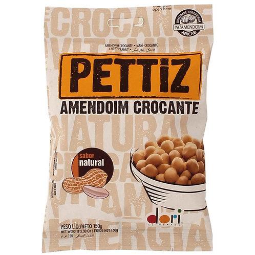 Amendoim Descascado Pettiz 150g  Natural