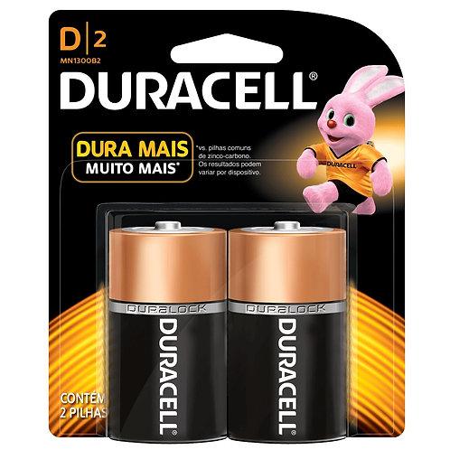 Pilha Duracell D2