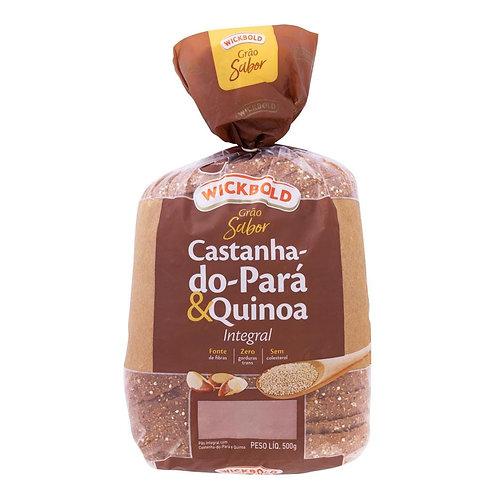 Pão Wickbold Sabor Wb 500g  Castanha Quinoa