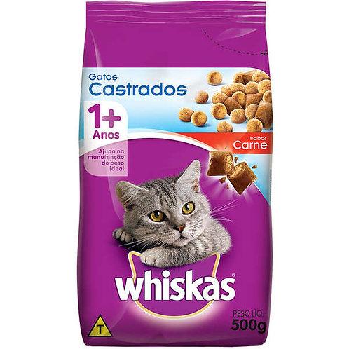 Ração Gatos Whiskas 500g  Castrado