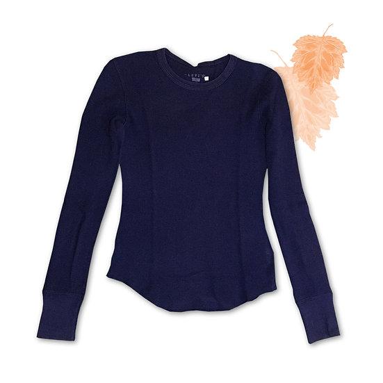 Camiseta Azul Marinho Levis - Tam P