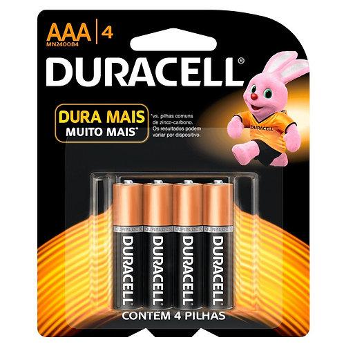 Pilha Duracell AAA4