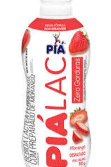 Bebida Lactea Piá Lac 900g  Morango 0% Gordura