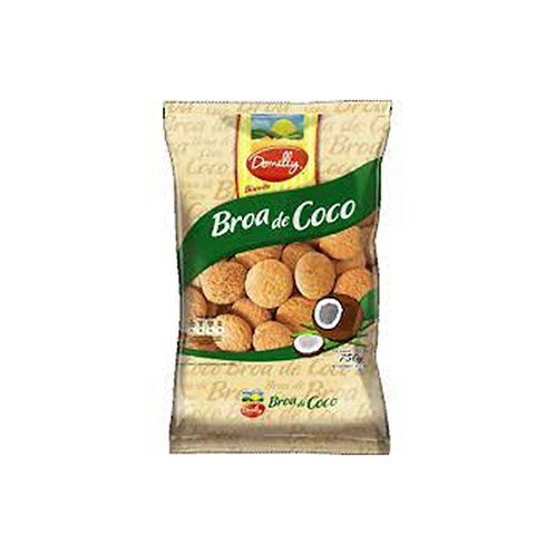 Biscoito  Domelly Broa Coco 700G