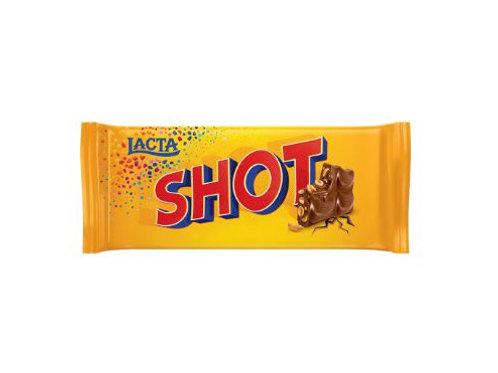 Chocolate Barra Lacta 90g  Shot