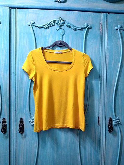 Camiseta amarela Rabusch - Tam P