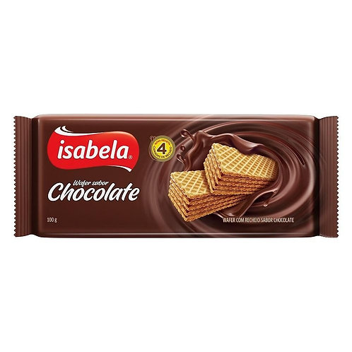 Wafer Isabela 100g  Chocolate