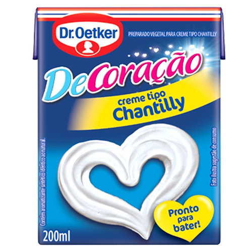 Chantilly Dr Oetker 200ml Decor Festa