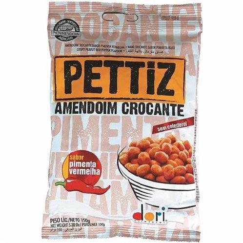 Amendoim Descascado Pettiz 150g  Pimenta