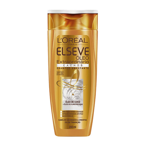 Shampoo Elseve  200ml Oleo Extraordinario