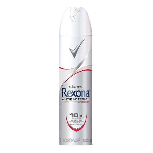 Desodorante Aerosol Rexona Women 175ml  Antibacterial