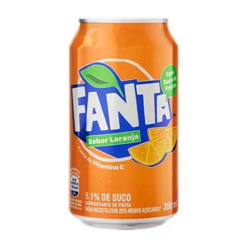 Refrigerante Fanta 350ml Laranja