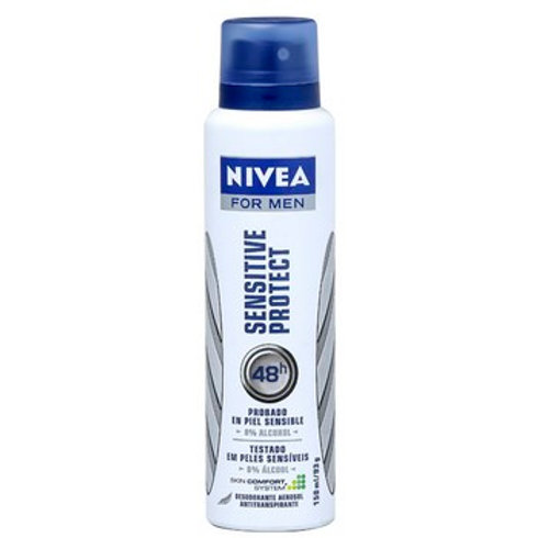 Desodorante Aerosol Nivea Men 150ml  Sensitive Protect