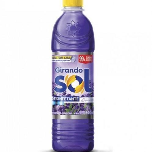 Desinfetante Girando Sol 500ml  Lavanda