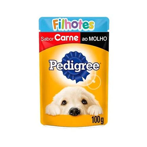 Ração Cães Pedigree 100g Filhotes Carne