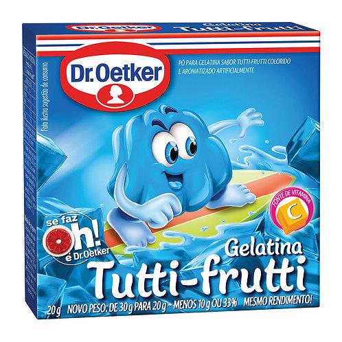 Gelatina Oetker 20g  Tutti Frutti